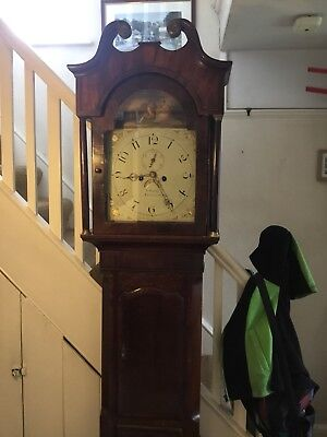 Early 19th Century 8 Day Clock