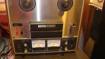Vintage Teac A-2070 Reel to Reel Tape Recorder