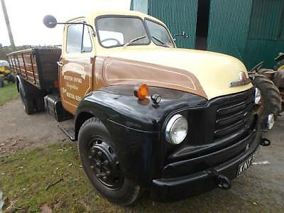 bedford type a truck 1954 superb example tipping back