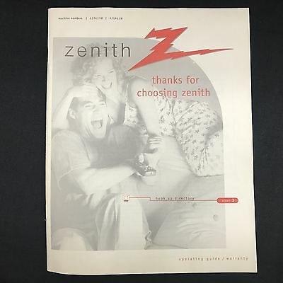 Zenith Manual Operating Guide For Television A27a23w A25a23w. Zenith Manual Operating Guide For Television A27a23w A25a23w. Wiring. Zenith 5g03 Wiring Diagram At Scoala.co