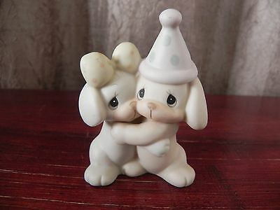 Enesco Adorable Precious Moments Let's Be Friends Figurine