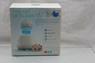 TAO Clean Aura Clean Orbital Facial Cleansing Brush & Cleaning Station, 25S3
