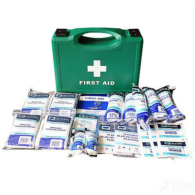 1-10 Person Workplace First Aid Kit Bag Box HSE Compliant Work Place