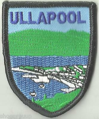 Ullapool Scotland Crest Flag World Embroidered Patch Badge