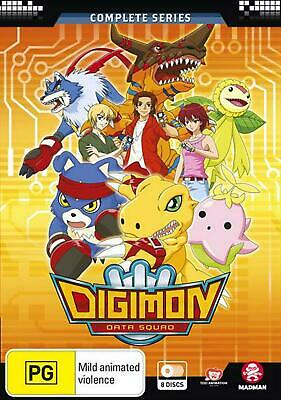 Digimon Data Squad: Eps 1-48 | Complete Series - DVD Region 4 Free Shipping!
