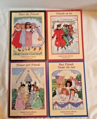 Set of 4 Faithful Friends collection books - Books #1 through #4