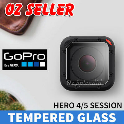 LCD Tempered Glass Screen Protector Protective for GoPro Hero 5 4 Session AU