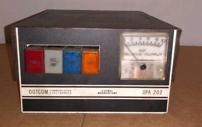Outcom Opa 202 Linear Amplifier With Pre Amp