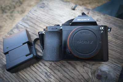 Sony a7 24.3MP Full Frame Mirrorless Camera Body, Battery and Charger Only