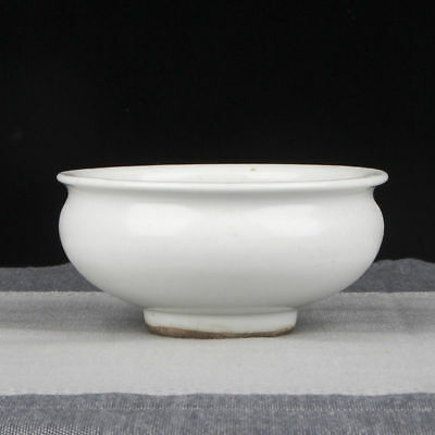 Exquisite Chinese Rare Old Porcelain Brush Washer Ink Pot Marked TianQi FA071