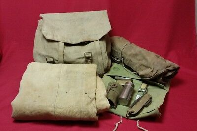 WW1 Canadian Soldier Personal Kit Items