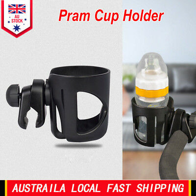 Baby Stroller Pram Cup Holder Universal Bottle Drink Water Coffee Bike Bag New