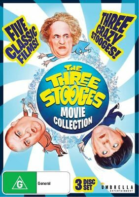 Three Stooges | Movie Collection (DVD, 2018) (NTSC / Region ALL) New Release