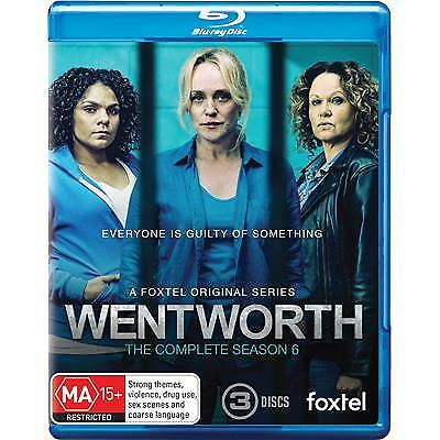 Wentworth : Season 6 (Blu-ray, 2018) (Region B) New Release