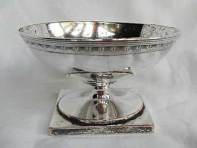 Antique Silvered Ciborium - Late 18th / Early 19th Century