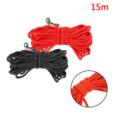 New Dog Lead Leash Training Long Line Recall Walking Obedience Hunting 15M