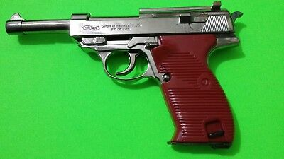 Lighter Gun cosplay P38 costume party 007 prop jet flame walther WWII wehrmacht