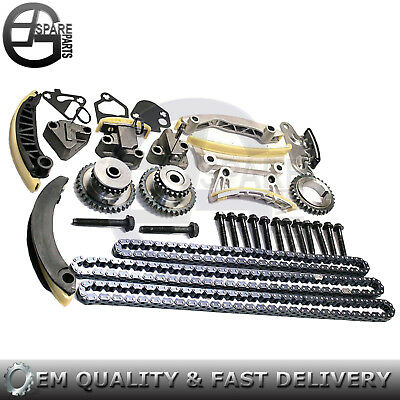 New Timing Chain Kit For 07-15 Buick Cadillac Chevrolet Saturn Pontiac 3.6L 3.0