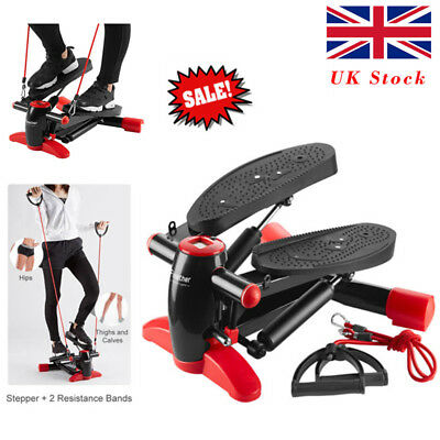 Mini Stepper Home Fitness Leg Arm Cord Training Gym Exercise Machine With Ropes