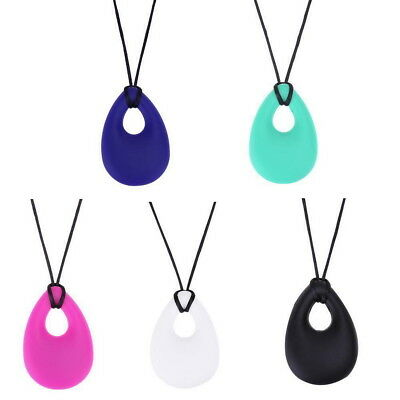 Autism ADHD Silicone Necklace Baby Teething Teether Chew Sensory BPA Free AU