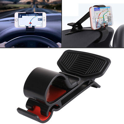 Car Dashboard Mount Holder Stand HUD Design Cradle for Mobile Cell Phone GPS