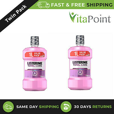 Listerine TOTAL CARE Clean Mint - 1L (2 PACK)