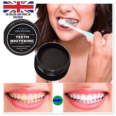 Activated Charcoal Powder Natural Organic Vegan Black Teeth Whitening Toothpaste