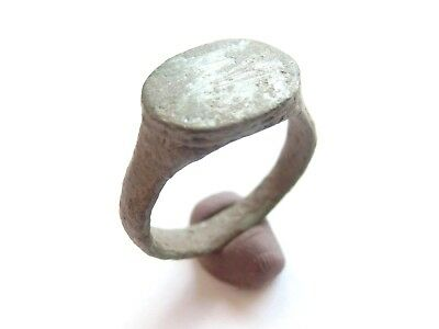 Ancient CELTIC Bronze Finger Ring - La Tene Culture 300 BC > **WEARABLE**