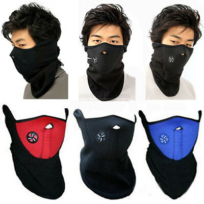 Unisex Ski Snowboard Motorcycle Bicycle Winter Sport Face Mask Neck Warmer Rakis