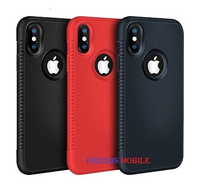 New iPhone Cove Case for Apple iPhone XSmax X XR 8 7 6 Plus and Tempered Glass