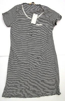 Mothercare Blooming Marvellous Maternity Striped Nightgown  Small  New
