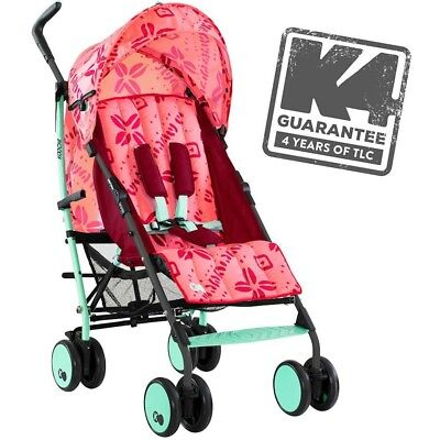 New Cosatto Koochi Sneaker in Bali Lightweight Stroller Pushchair + Raincover