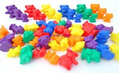 Bear Sorting Counters Educational Early Learning Maths Fun Toy SEN Montessori