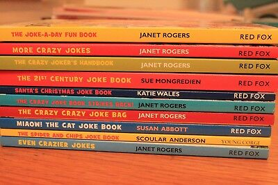 Jokes Book Collection for Children  -10 Books- RRP £ 49.90 NEW FREE P&P