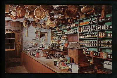 Interiors postcard West Chester Pennsylvania PA Baldwins' Old Country Store
