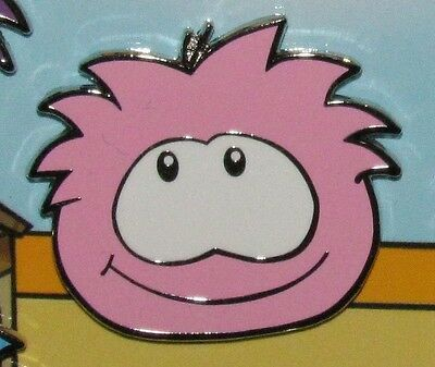 Disney Pin PINK Puffle Club Penguin Puffles from Booster