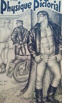 Tom of Finland- Physique Pictorial volume 14 number 3 gay interest magazine