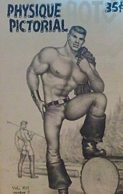 Physique Pictorial Volume 16 number 2 1967 gay interest magazine