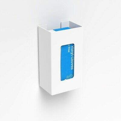Disposable Single Glove White Dispenser / Wall Mounted Glove Holder