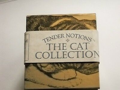 The Mini Book Set Cat Collection 4 Hardcover Editions by Tender Notions-NOS