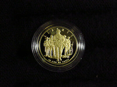 2011 US Mint United States Army $5 PROOF Gold Coin