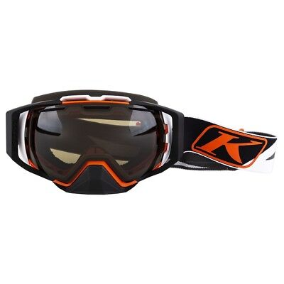 Klim Oculus Dissent Orange/Brown Polarized Mens Winter Snowmoble Goggles