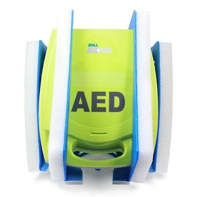 New in Box Zoll AED Plus Semi Automatic 2022 CPR-D Padz 5 Year Warranty