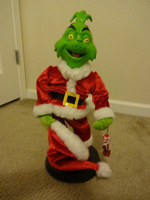 gemmy how the grinch stole christmas animated with lights - How The Grinch Stole Christmas Animated