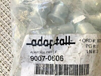 "ADAPTALL 9007-0606 - 3/8"" to 3/8"" PACK OF 20 - FITTING, MALE BSPP X MALE NPT"