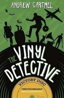Vinyl Detective - Victory Disc by Andrew Cartmel Paperback Book Free Shipping!