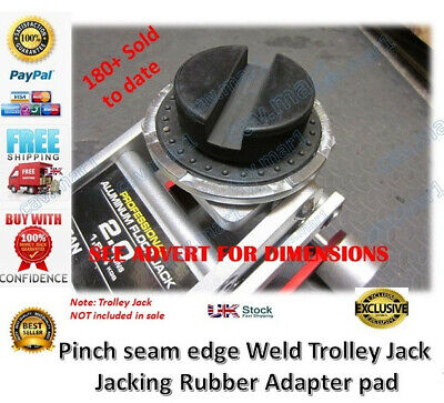 Trolley Jack pad Pinch Weld rubber pad block hydraulic ramp Axle stand classic