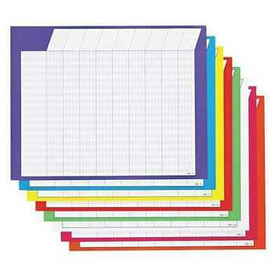 TREND T73902 Horizontal Incentive Chart Pack,PK8