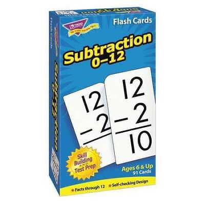 TREND T53103 Skill Drill Flash Cards,Subtraction,PK91