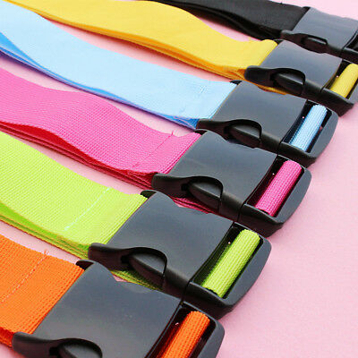 Travelling Colorful Adjustable Luggage Baggage Straps Tie Down Belt New